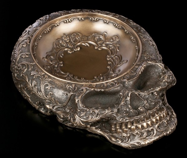 Skull Bowl - Baroque Death