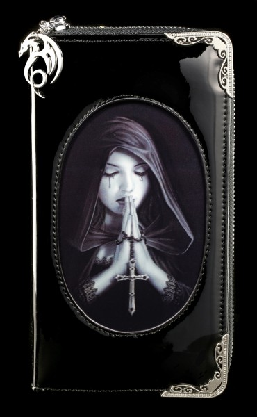 Fantasy Purse with 3D Picture - Gothic Prayer