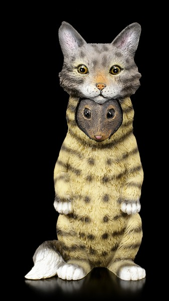 Dupers Figurine - Mouse in Cat Costume