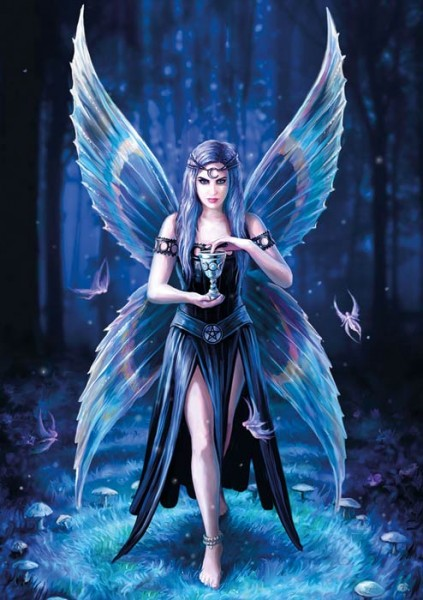 Greeting Card with Fairy - Enchantment