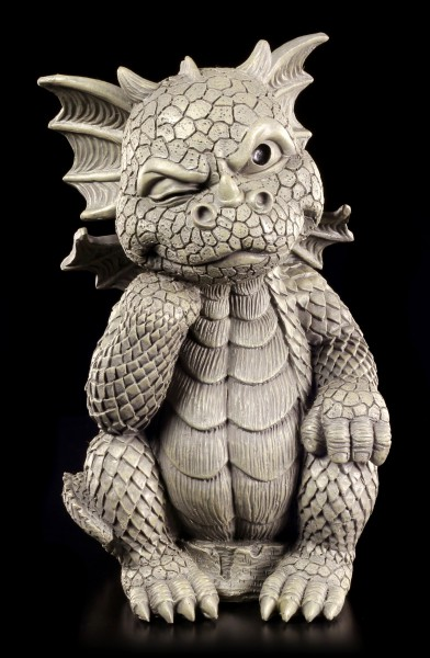 Dragon Garden Figurine - The Thinker