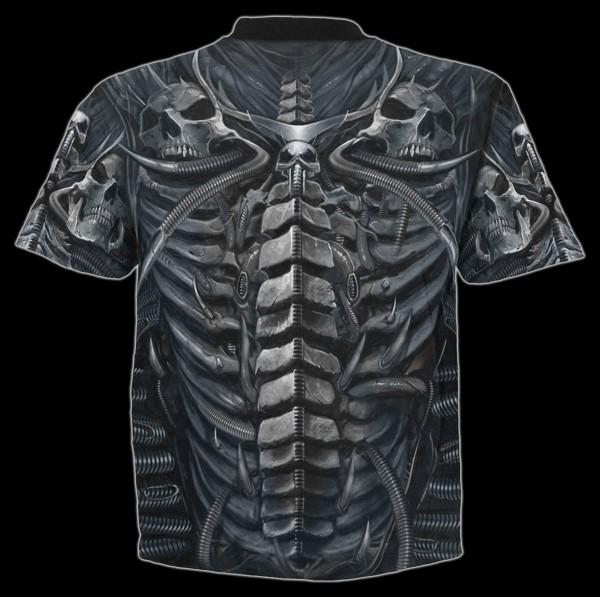 Spiral Totenkopf T-Shirt - Skull Armour