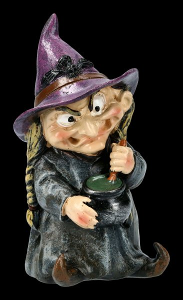 Funny Witch Figurine - Double Double