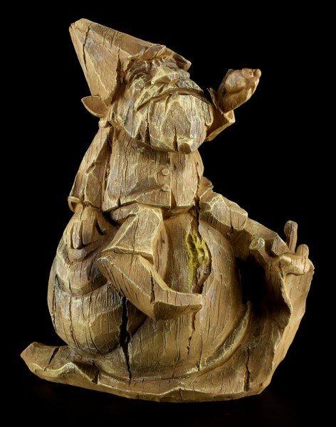 Zwergen Figur - Gilmond in Holzoptik