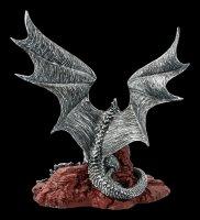 Dragon Figurine - Khamseen Silver