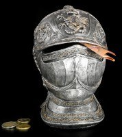 Knight Helmet Money Box