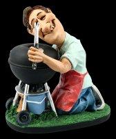 Funny Job Figurine - Barbecue King