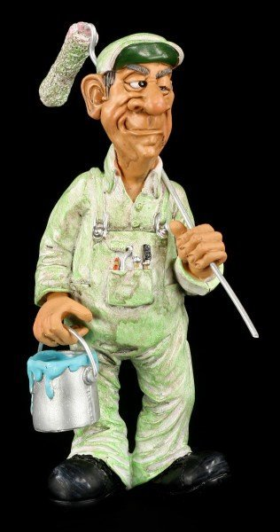Painter - Funny Job Figurine