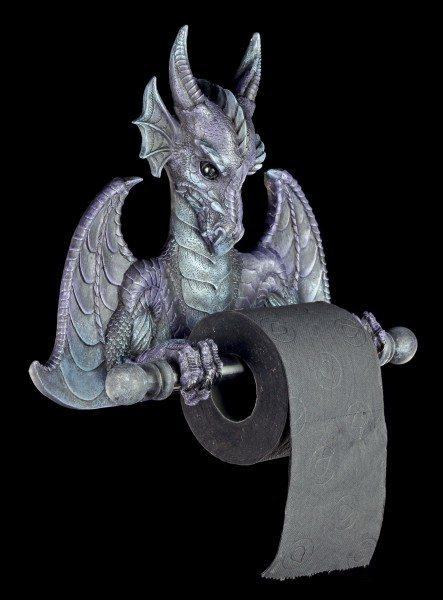 Drachen Toilettenpapierhalter - Lila