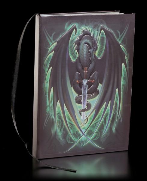 Hardback Dragon Journal - Skull Blade