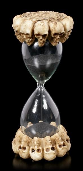 Skull Sand Clock - Timeless Infinity