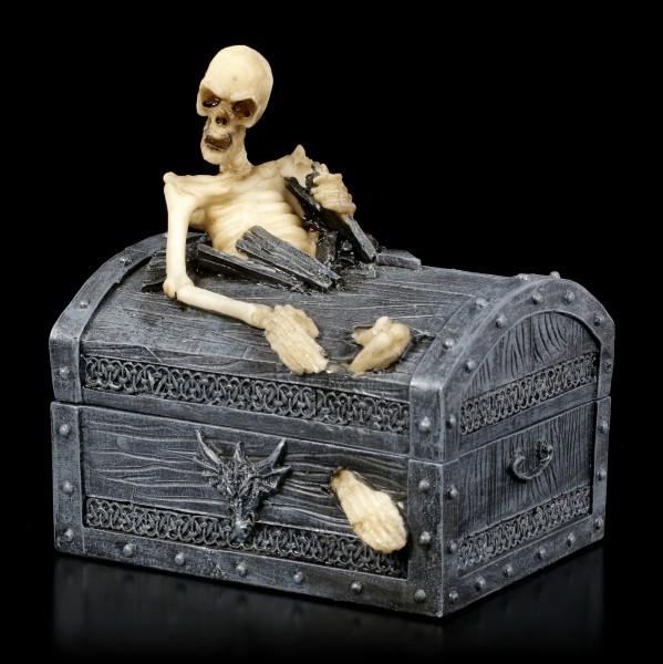 Skelett Schatulle - Dead Mans Chest