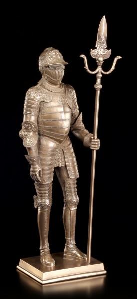 Ritter Figur - Stehend mit Hellebarde