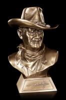 Kleine John Wayne Büste mit Zertifikat