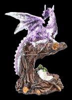 Drachenfiguren Set - Mutterliebe bunt