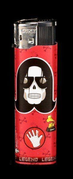 Feuerzeug - Skullebrities - Applehead