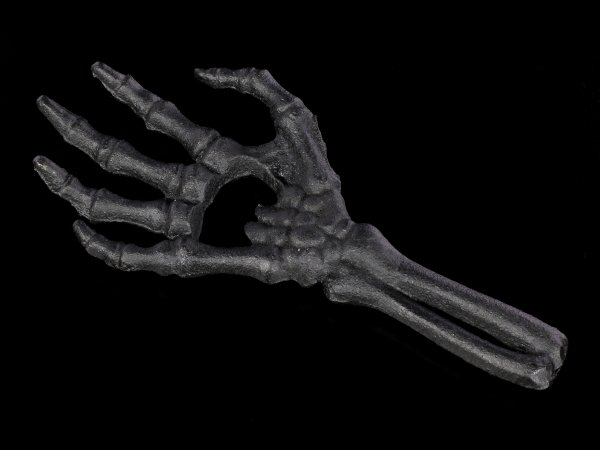 Alchemy Bottle Opener - Skeleton Hand black