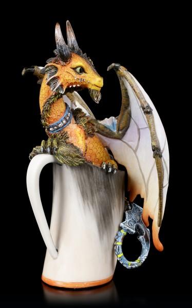 Dragon Figurine - Mead by Stanley Morrison