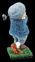 Funny Sports Figur - Golfspieler beim Abschlag