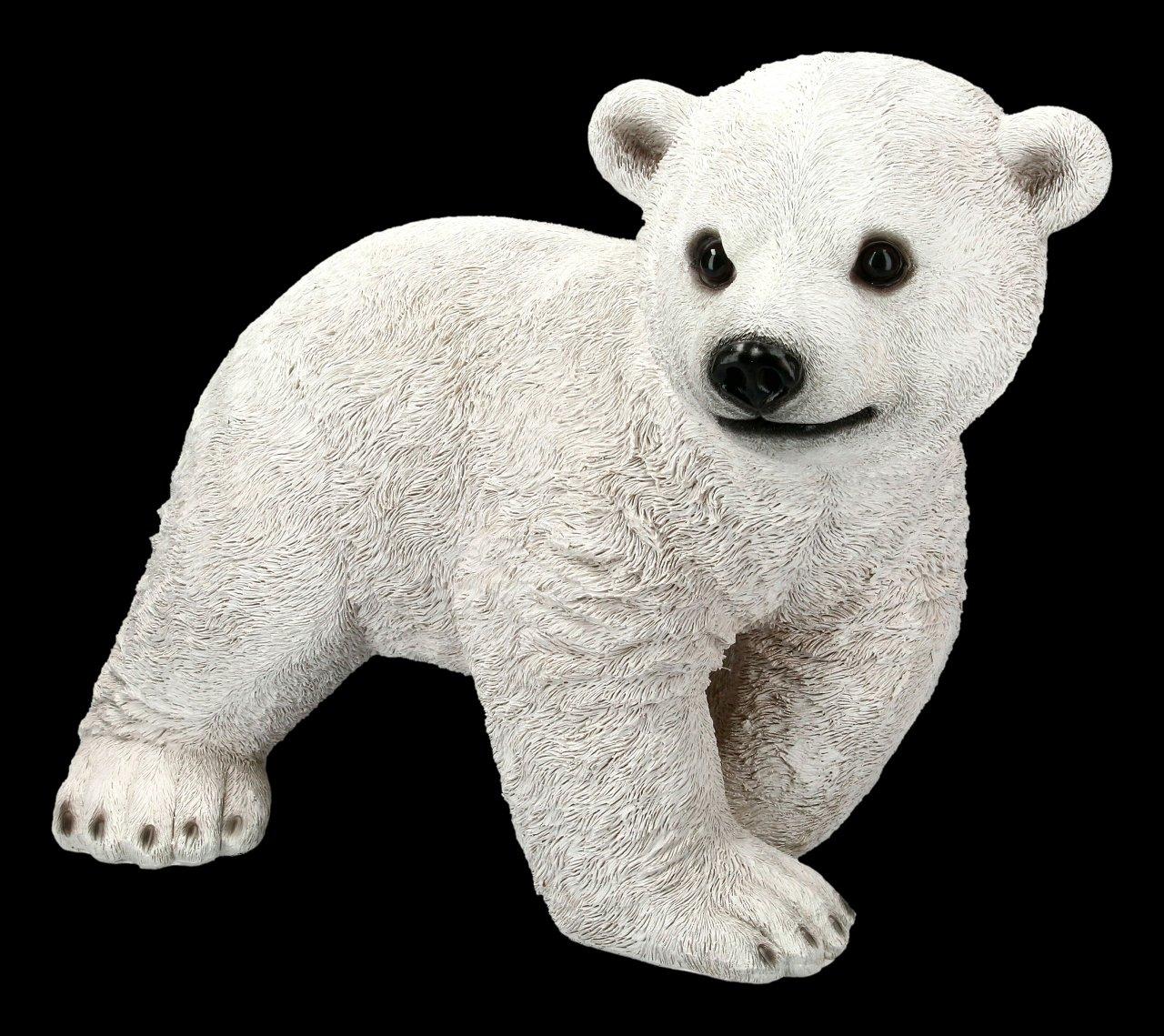 Garden Figurine - Polar Bear Cub