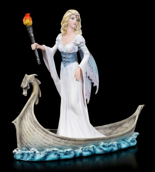Fairy Figurine - Mystica on Dragon Boat