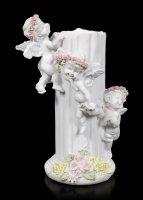 Engel Teelichthalter - Drei kleine Putten