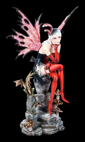 Large Fairy Figurine - Roxana with Dragon