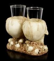 Shot Glasses with Skull - Dead Shot