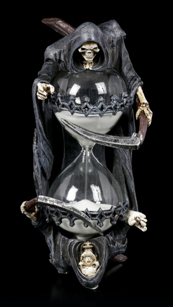 Hourglass - Grim Reaper by Anne Stokes