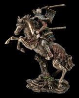 Samurai Figurine - Warrior Rides into the Fight