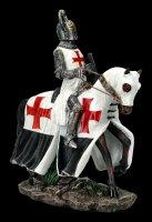 Crusader with Horse and Shield