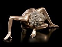 Female Nude Figurine - Lying on Ground
