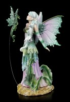 Elfen Figur mit Drache - Discovery by Amy Brown