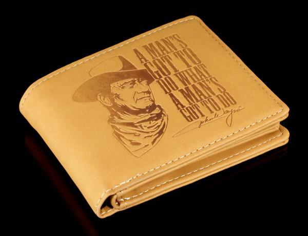 Men Wallet Cowboy - John Wayne