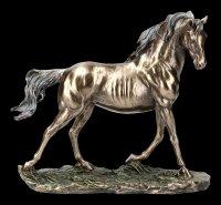 Horse Figurine - bronzed
