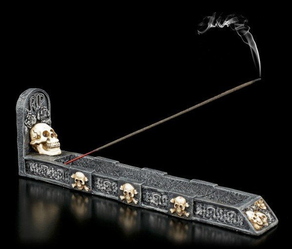 Preview: Skull Incense Stick Holder - RIP