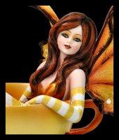 Cup Fairy Autumn Figurine