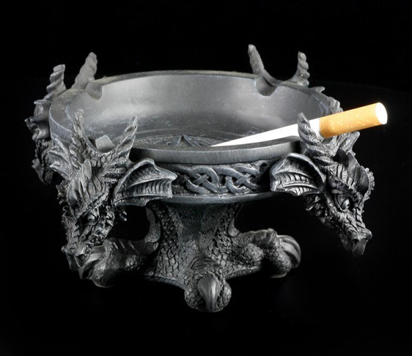 Ashtray - Four Dragons