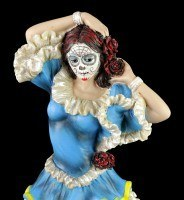 Flamenco Dancer - Day of the Dead - Blue