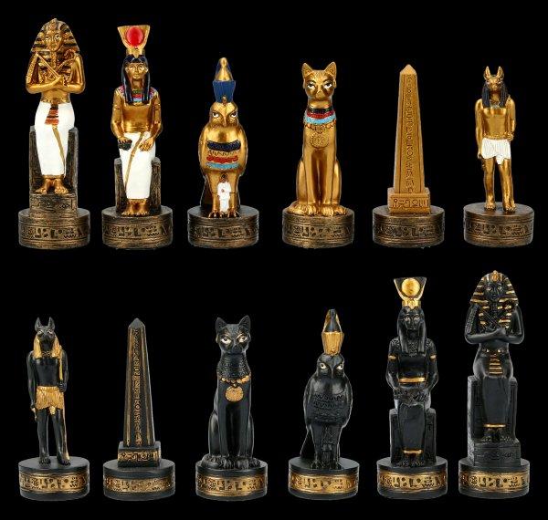 Schachfiguren Set - Altes Ägypten