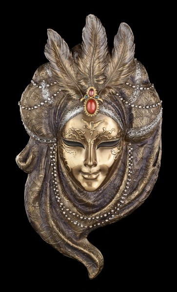 Venetian Mask - Pearl Necklace