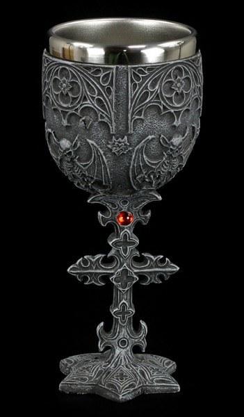 Gargoyle Kelch mit Kreuz
