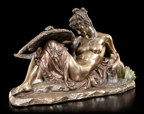 Leda and the Swan Figurine