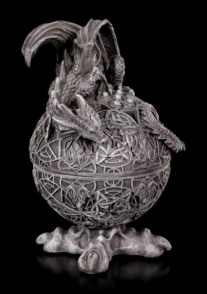 Incense Cone Holder - Dragon Globe