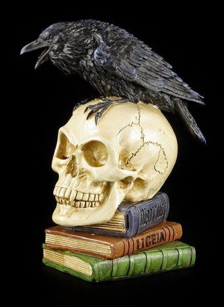 Alchemy The Vault - Rabe auf Totenkopf - Poes Raven