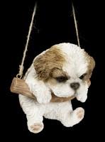 Hängende Hunde Figur - Shih Tzu Welpe