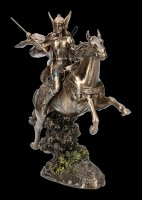 Valkyrie Figurine with Horse