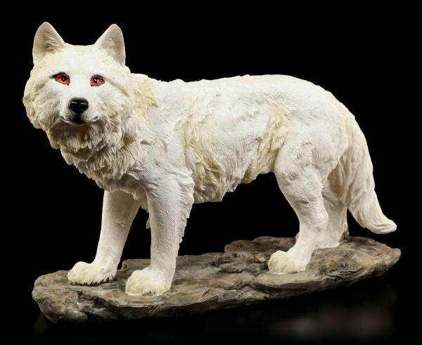 Wolf Figur - Eine Fährte in der Luft