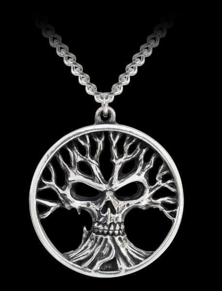 Alchemy Halskette - Gotik Tree of Death