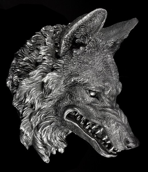 Wolf Head Wall Plaque - The Wild Beast